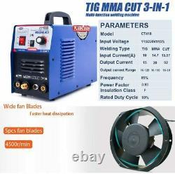 Welding Machine 3 In 1 Plasma Cutter/TIG/MMA Argon Welder With Free Consumables