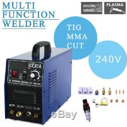 Welding Machine CT312 3IN1 TIG/MMA/CUT Welders Plasma Cutter Torches Accessories